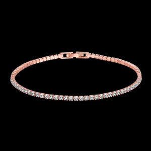 Jewelry - 💎WOW18K Rose Gold Filled Zircon Tennis Bracelet💎